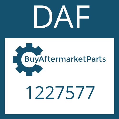 DAF 1227577 - PIPE UNION