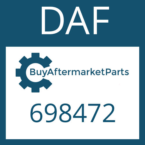 DAF 698472 - WASHER