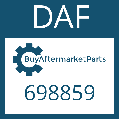 DAF 698859 - WASHER