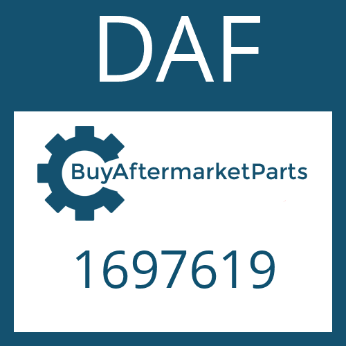 DAF 1697619 - SEALING RING