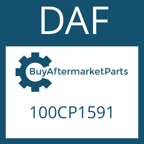 DAF 100CP1591 - WASHER