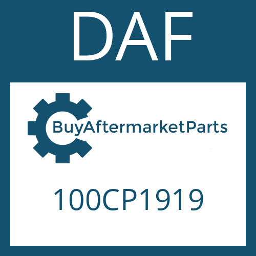 DAF 100CP1919 - WASHER