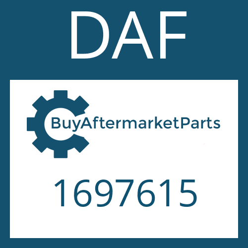 DAF 1697615 - SNAP RING