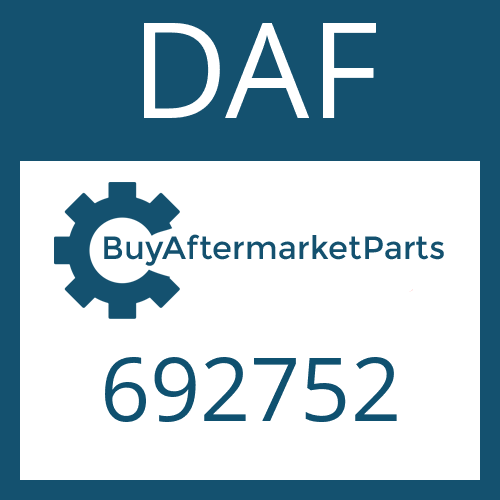 DAF 692752 - COMPRESSION SPRING