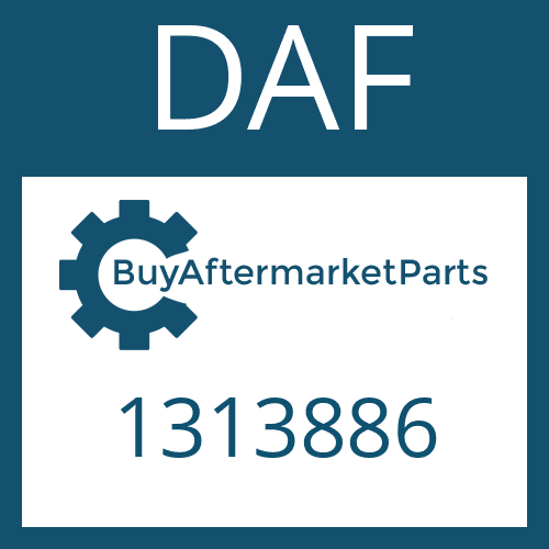 DAF 1313886 - COMPRESSION SPRING
