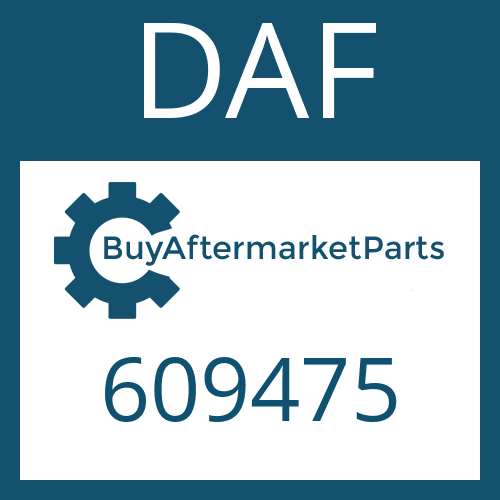 DAF 609475 - SHAFT SEAL
