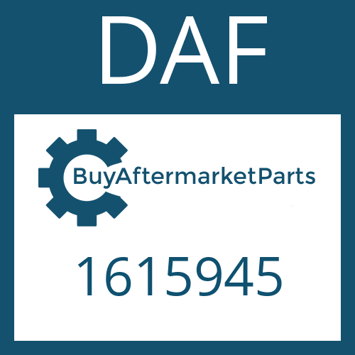 DAF 1615945 - HEXAGON SCREW