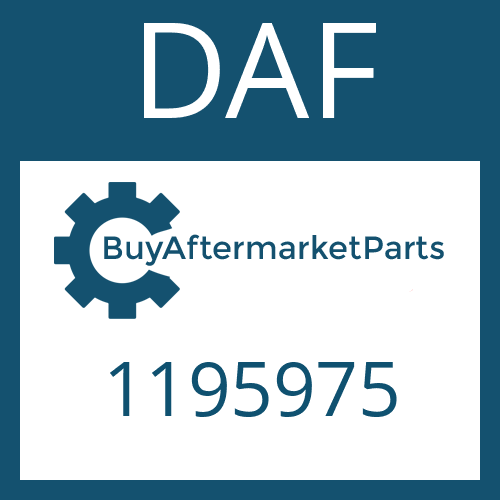 DAF 1195975 - COMPRESSION SPRING