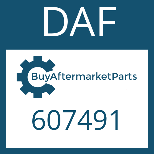 DAF 607491 - CLUTCH BODY