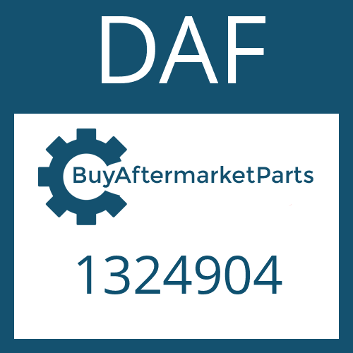 DAF 1324904 - GEAR SHIFT LEVER
