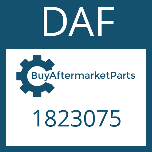 DAF 1823075 - WASHER