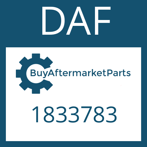 DAF 1833783 - GEAR SHIFT SHAFT