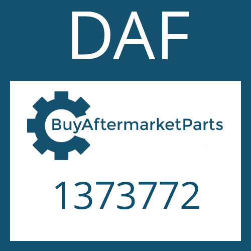 DAF 1373772 - ANTRIEBSWELLE