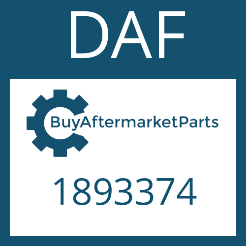 DAF 1893374 - REPAIR KIT
