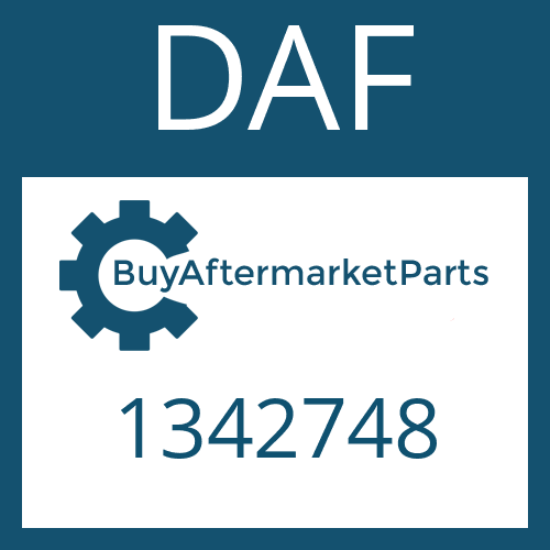 DAF 1342748 - OUTPUT SHAFT