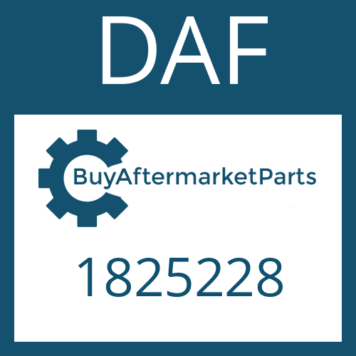 DAF 1825228 - GEAR SHIFT RAIL