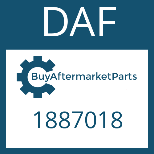 DAF 1887018 - OIL TUBE