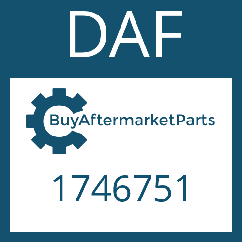 DAF 1746751 - OUTER CLUTCH DISK