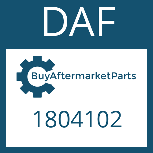 DAF 1804102 - SPLIT RING