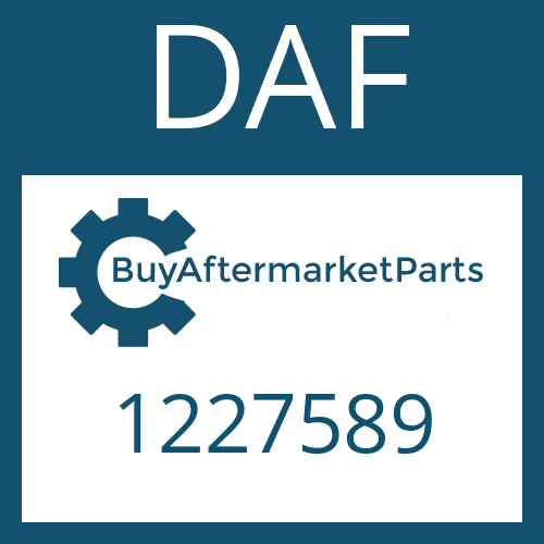 DAF 1227589 - CONN.PART