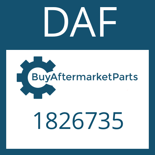 DAF 1826735 - SLIDING SLEEVE