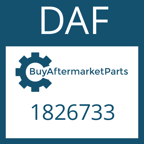 DAF 1826733 - SLIDING SLEEVE