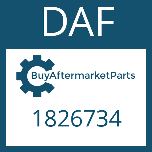 DAF 1826734 - WASHER