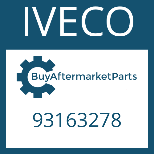 IVECO 93163278 - HELICAL GEAR