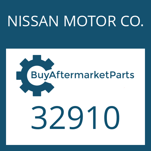 NISSAN MOTOR CO. 32910 - GEAR SHIFT SHAFT