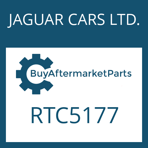 JAGUAR CARS LTD. RTC5177 - RETAINING RING