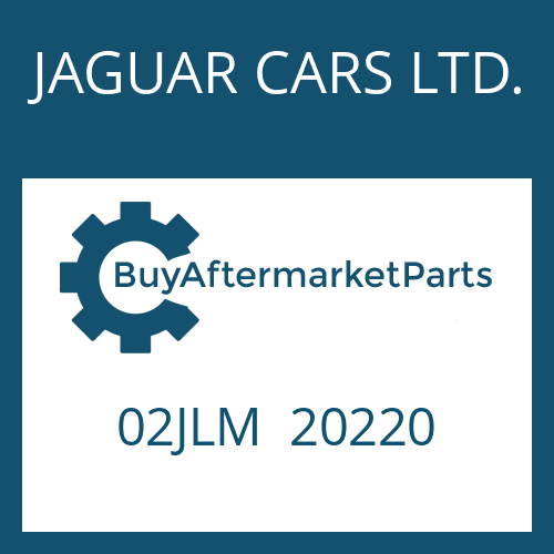 JAGUAR CARS LTD. 02JLM  20220 - PRESSURE REGULATOR