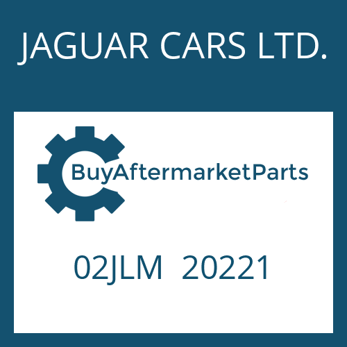 JAGUAR CARS LTD. 02JLM  20221 - DRUCKREGLER