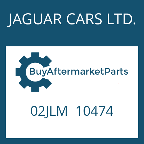 JAGUAR CARS LTD. 02JLM  10474 - NUT