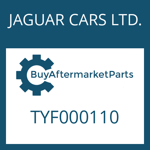 JAGUAR CARS LTD. TYF000110 - GASKET