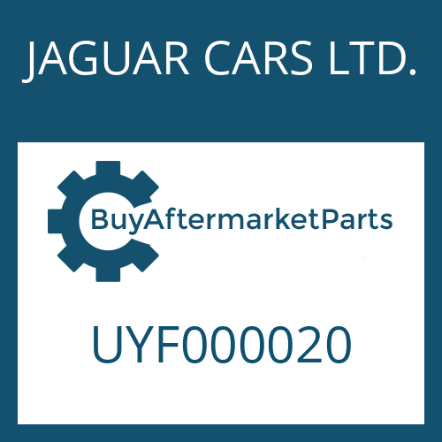 JAGUAR CARS LTD. UYF000020 - WASHER