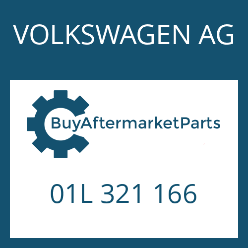 VOLKSWAGEN AG 01L 321 166 - WASHER