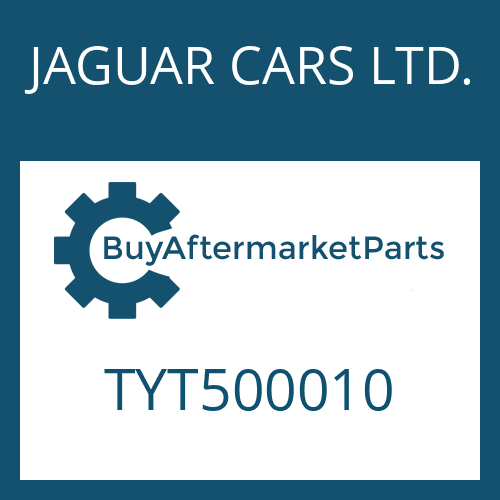 JAGUAR CARS LTD. TYT500010 - SPANNHUELSE