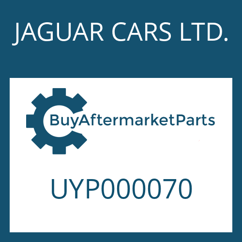 JAGUAR CARS LTD. UYP000070 - SCREW PLUG