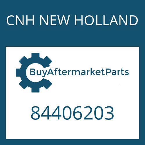 CNH NEW HOLLAND 84406203 - COVER PLATE