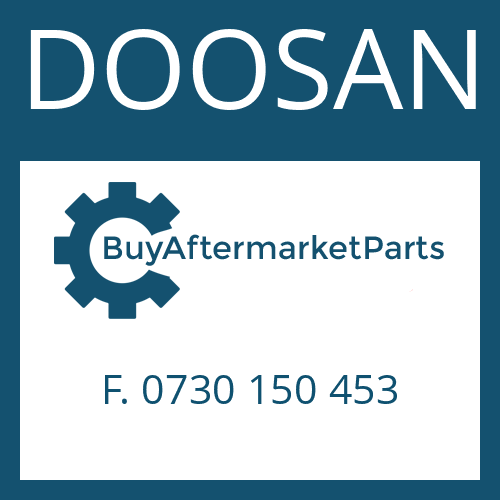 DOOSAN F. 0730 150 453 - THRUST WASHER