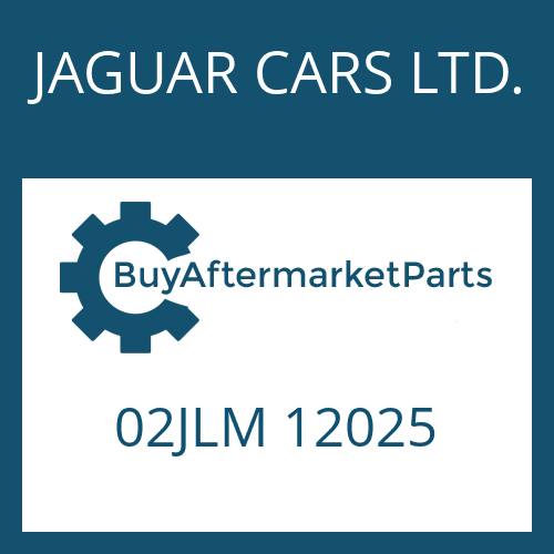 JAGUAR CARS LTD. 02JLM 12025 - SELECTOR SHAFT