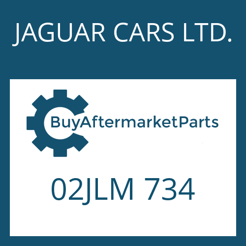 JAGUAR CARS LTD. 02JLM 734 - SEALING RING