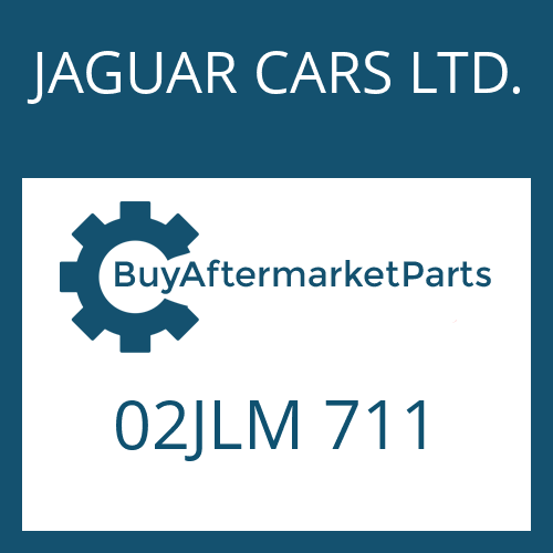 JAGUAR CARS LTD. 02JLM 711 - BUNDMUTTER
