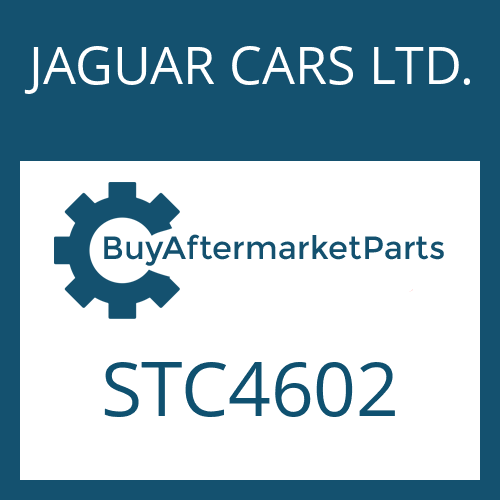 JAGUAR CARS LTD. STC4602 - ROUND SEALING RING