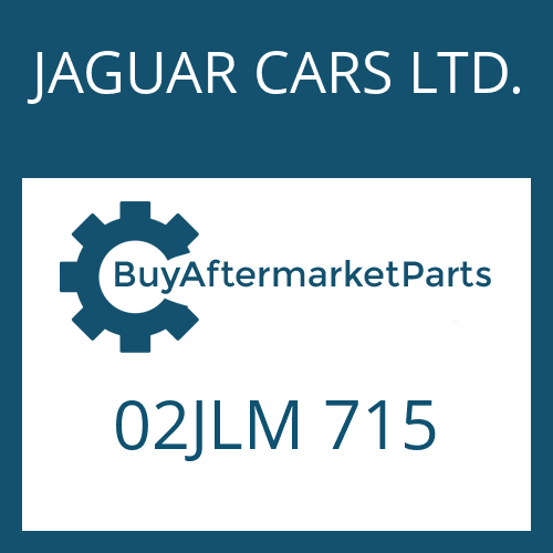 JAGUAR CARS LTD. 02JLM 715 - PARKSPERRENRAD