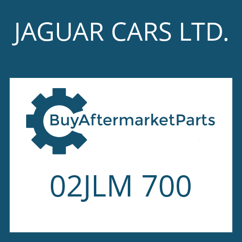 JAGUAR CARS LTD. 02JLM 700 - HEXAGON SCREW