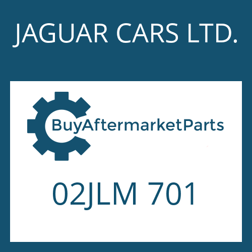 JAGUAR CARS LTD. 02JLM 701 - HEXAGON SCREW