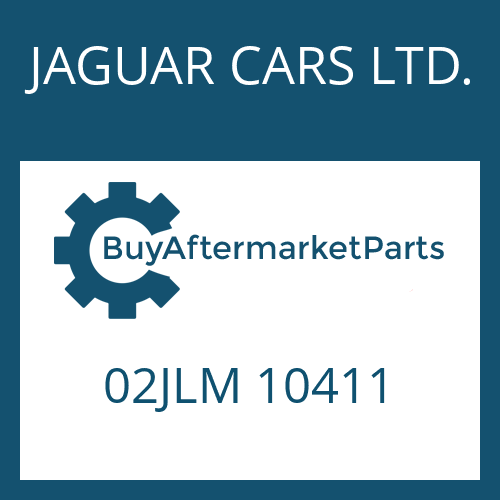 JAGUAR CARS LTD. 02JLM 10411 - ENTLUEFTER