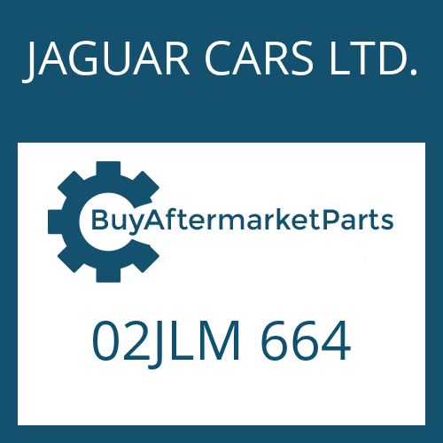 JAGUAR CARS LTD. 02JLM 664 - OELSIEB