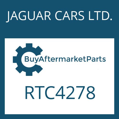 JAGUAR CARS LTD. RTC4278 - HEXALOBULAR DRIVING SCREW